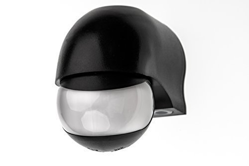 HUBER MOTION 3, Bewegungsmelder 180°, schwarz, horizontal und vertikal einstellbar, energieeffizient