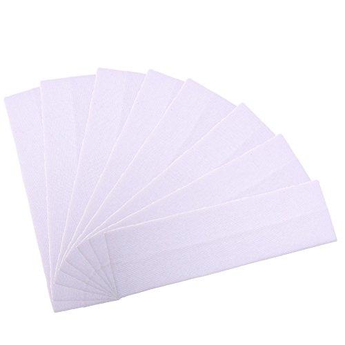 Cosmos 2.5 Wide Stretchy Cotton Yoga Headband (White Color (8 pcs))