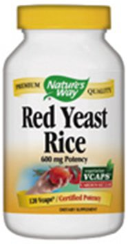 NATURE'S WAY RED RICE YEAST, 120 VCAP