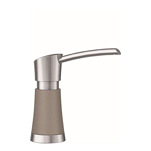 Blanco 442053 Soap Dispenser Artona, Truffle/Stainless Dual ()