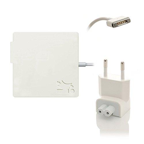 iProtect Ladegerät Netzteil 60W für Apple MacBook mit MagSafe 2 Netzanschluss Charger weiß
