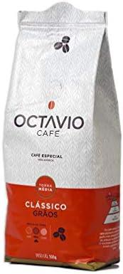 Café Torrado em Grãos Clássico Octavio Café Especial 500g