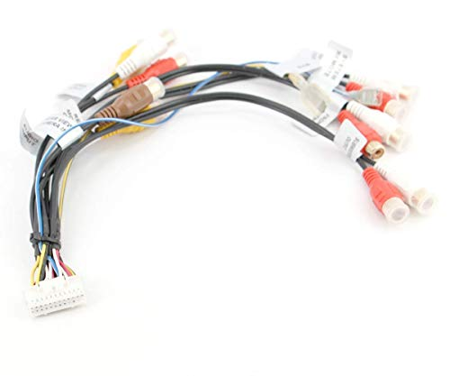 Xtenzi RCA Sub Harness Cord Assembly Compatible with Prioneer Avic X910 X710 X9115bt X7010,Cdp1143 Cdp1091