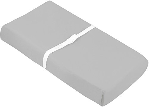 Kushies-Baby-Change-Pad-Fitted-Sheet-Grey-Solid