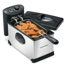 Hb 12 Cup Deep Fryer - Hamilton Beach 12 Cup Deep Fryer