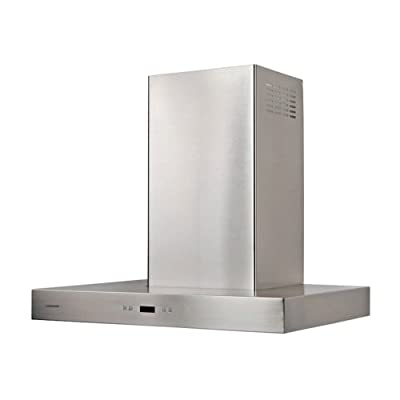 Cavaliere-Euro 42W in. Wall Mounted Range Hood with Aluminum Mesh