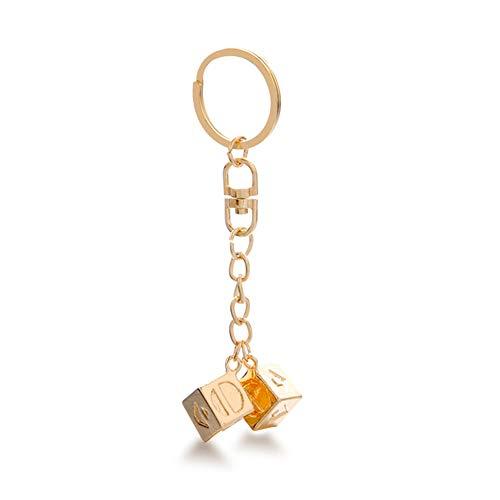 HAN Solo Cosplay Dice Keychain Pendant, Men