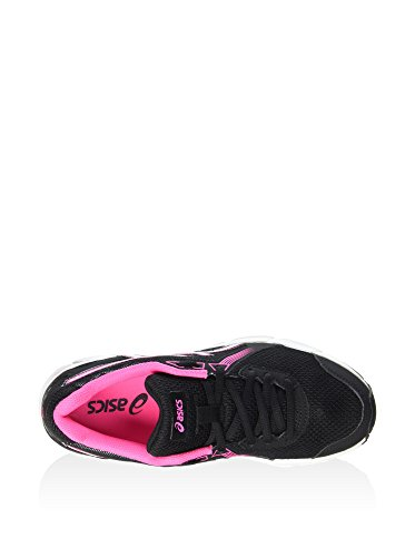 Plata SS16 Impression Zapatillas 8 ASICS Negro Para Women's Rosa Gel Correr RAxvqwZ7