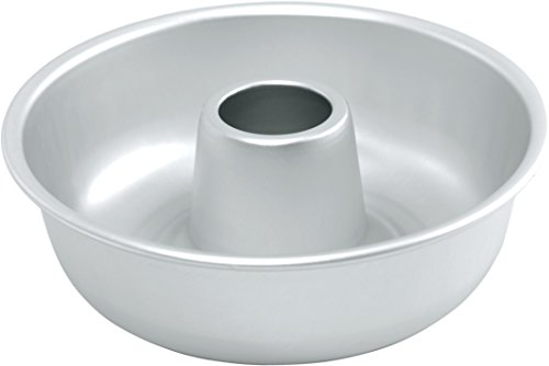 Fat Daddios Ring Mold Pan, Silver - 10 Inches by 3.5 Inches