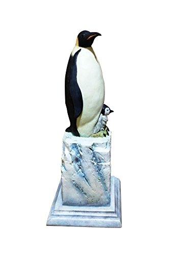 Best Penguin Ocean Themed Carved Figurine Valentines Day Basket Filler Smart Gift Idea Kids Parents Lover Roommate Family Friend Him Her Neighbor Cute Water Animal Home Dorm Decor Statue