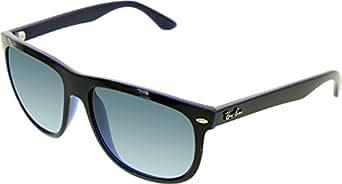 Ray-Ban Mens Sunglasses (RB4147) Black/Blue Plastic - Non-Polarized - 56mm