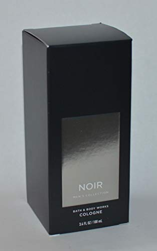 Bath and Body Works Noir Men s Collection Cologne 3.4 Ounce New Packaging