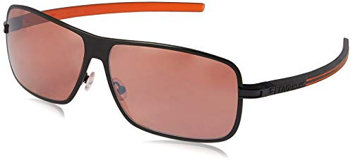 8194c59b5a TAG HEUER 66 0988 204 631203 Polarized Square Sunglasses