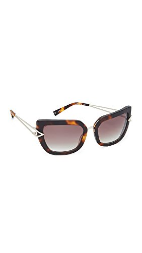 KENDALL + KYLIE Women's Bianca Sunglasses, Tortoise/Smoky Brown, One - Sunglasses Kylie And Kendall