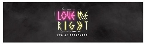 EXO - [ LOVE ME RIGHT ] 2nd Album Repackage (Korean ver.) CD Packages K-POP by KT Music