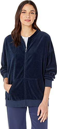 Juicy Couture Women's Velour Beverly Jacket Regal ()