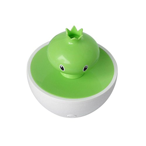 Hatop New Essential Oil Aroma Diffuser Ultrasonic Humidifier Air Aromatherapy Purifier (Green)