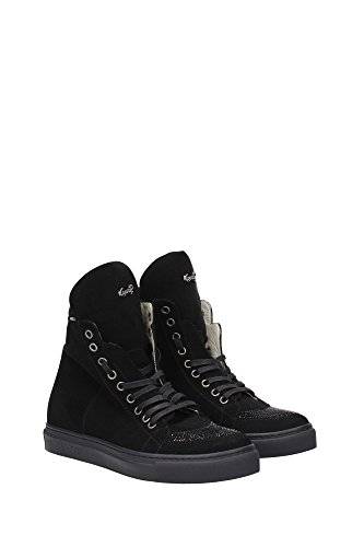 Black GR02PNERO Women Paciotti UK Cesare Sneakers 4q6807