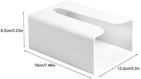 Caja De Pañuelos Piel Caja Porta Toallitas Faciales Caja De Madera para Pañuelos Cubo Dispensador De Papel Servilletas De Pañuelos para La Oficina En Casa, Decoración Automotive: Amazon.es: Hogar