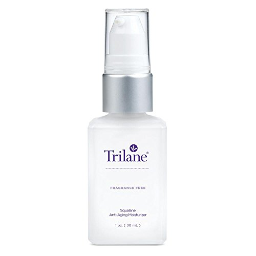 Trilane Anti-Aging Moisturizer is a Squalane-Based Beauty Oil that Reduces Dry, Rough and Flaky Skin (Unscented) 1 Bottle