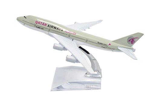 Tang Dynasty Tm  1 400 16Cm Boing B747 400 Qatar Airways Plane Metal Airplane Model Plane Toy Plane Model