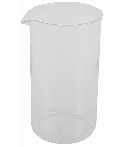 - First4Spares For Bodum Spare Glass Carafe for French Press Coffee Maker, 8-Cup, 1.0-Liter, 34-Ounce