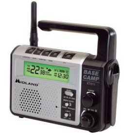 Midland Base Camp GMRS Radio with Microphone - Model# XT511