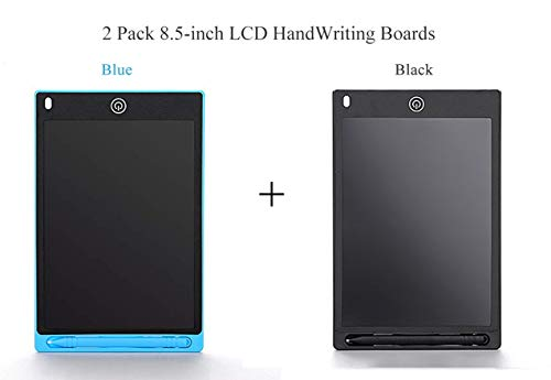 2 Pack 8.5 Inch Goyong Digital Handwriting Pad, LCD Writing Tablet, Electronic Drawing Board for Kids & Adults, Portable Electronic Tablet, Doodle Board, Notepad for Home, School & Office