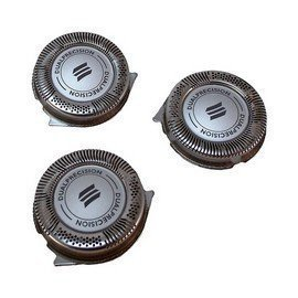 Norelco Replacement Heads Blades Parts for PT720 PT724 PT730 AT810 AT830 PowerTouch Electric Shaver Razor (Norelco Replacement Heads 7140xl)