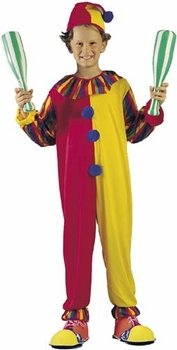 Plus Big Top Clown Costumes (Child's Big Top Clown Costume (Size: Large)