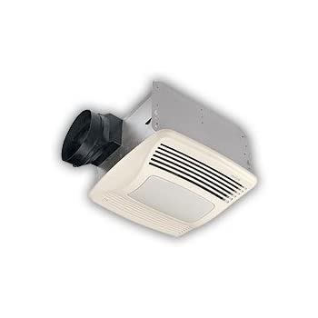 Broan Qtxen110sflt Ultra Silent Humidity Sensing Ventilation Fan W Light Night