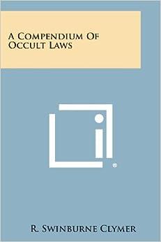 A Compendium of Occult Laws