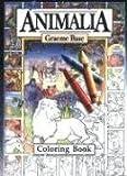 Animalia Coloring Book, Graeme Base, 0810926334