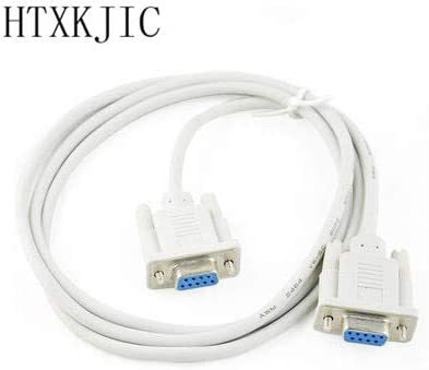 Cable Length: 150cm, Color: Male to Female Computer Cables New 1.5M Serial RS232 9 Pin Female to Female DB9 9-Pin PC Converter Extension Cable RS232 Male to Female Male to Male 3M 5m