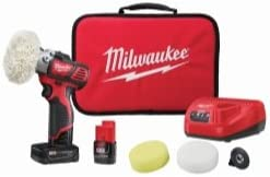 M12 Variable Speed Polisher Sander With 5 Piece Accessory Kit
