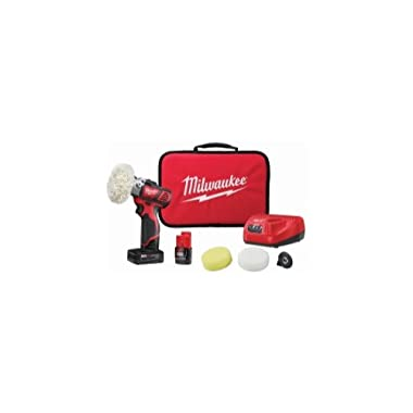 M12 Variable Speed Polisher/Sander With 5 Piece Accessory Kit
