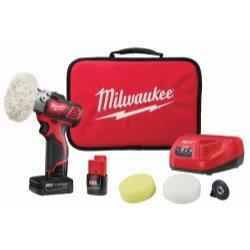 - M12 Variable Speed Polisher/Sander With 5 Piece Accessory Kit