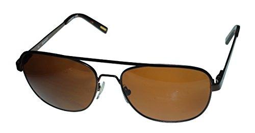 Gant Mens Brown Metal Aviator Polarized Sunglass - Men Sunglasses Gant