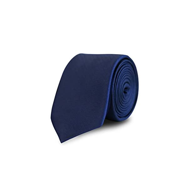 Twill-solid-woven-tie-navy