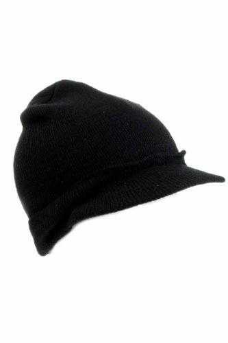 hombre punto negro con Gorro color de visera talla única AxgwqaFwH
