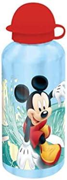 Mickey Summer Sport Stampato Mickey Mouse KIDS EUROSWAN Borraccia Disney in Alluminio 500 ml