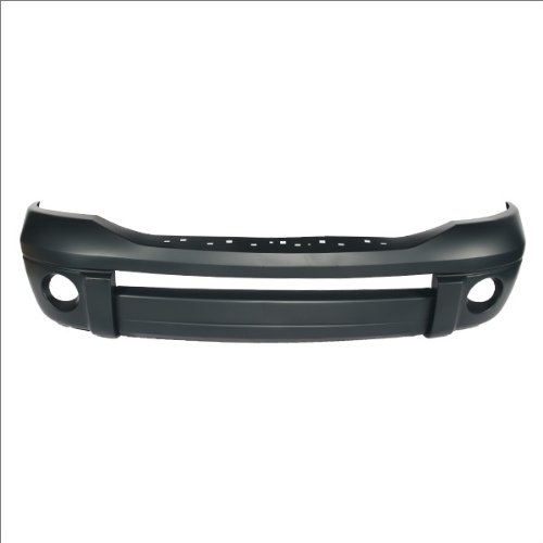 CarPartsDepot 352-171154-10-PM FRONT BUMPER COVER LARAMIE ASSEMBLY PRIMED (2007 Dodge Ram Laramie)