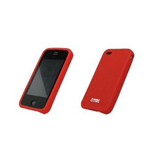 Apple iPhone 4 / iPhone 4G Empire Silicone Case Cover Protector, Red