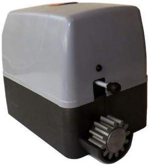 Kit completo profesional motor puerta corredera residencial hasta 400kg de peso con 4 mandos alta seguridad placa de control 4 metros de cremallera de nylon con tornillos fotocelula de espejo