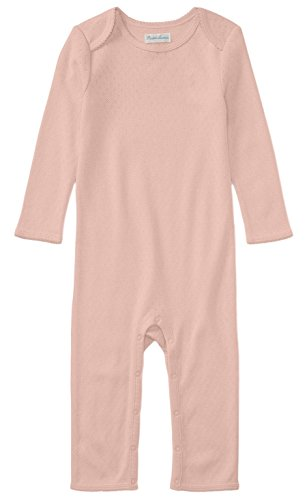 - Ralph Lauren Baby Girls L/S Pointelle Cotton Coverall (Petal Pink, nb)