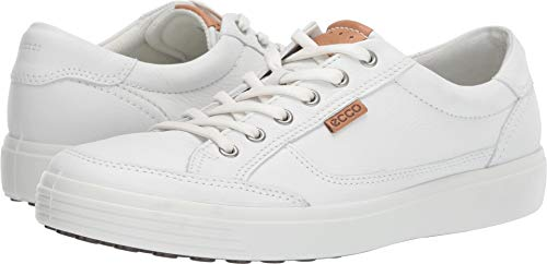 ECCO Men's Soft 7 Sneaker White 43 M EU (9-9.5 ()