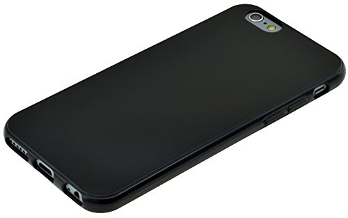 Trendcell TPU Silicon Hülle für iPhone 6S | iPhone 6 | Case Tasche Schutzhülle Cover in schwarz
