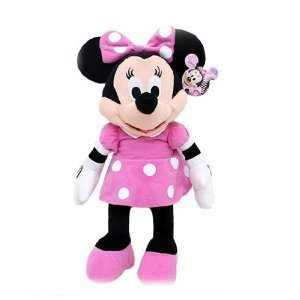 Amazon Com Large Minnie Mouse Plush Doll 24 Inch Toys Games