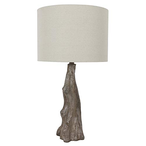 (Decor Therapy TL17310 Table Lamp Driftwood Brown Gray )