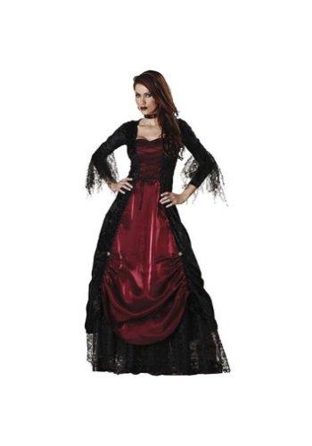 Adult Vampiress Costumes (InCharacter Costumes Women's Gothic Vampiress Costume - Size XL)